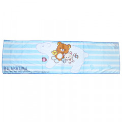 Japan San-X Rilakkuma Cool Towel - with Polar Bear Blue