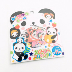 Japan Mind Wave Mini Sticker 71pcs - Panda Parade