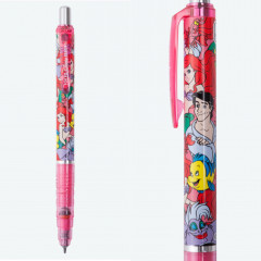 Japan Disney Resort Limited Zebra DelGuard 0.5mm Lead  Mechanical Pencil - Ariel & Friends Pink