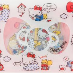 Japan Sanrio Masking Seal Flake Sticker - Hello Kitty with Gold Foil