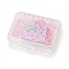 Japan Sanrio Masking Seal Sticker - Little Twins Stars with Case