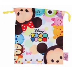 Japan Disney Drawstring Bag - Tsum Tsum White