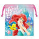 Japan Disney Drawstring Bag - Little Mermaid Ariel Smile