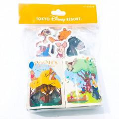 Japan Disney Resort Limited Notepad Memo - Winnie the Pooh & Friends