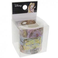 Japan Disney Washi Paper Masking Tape - Princess Ariel Alice Rapunzel Characters 3 pcs Set
