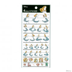 Japan Disney 4 Size Sticker - Alice in Wonderland