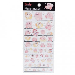 Japan Kirby 4 Size Masking Sticker