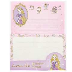 Japan Disney Letter Envelope Set - Princess Rapunzel My Closet