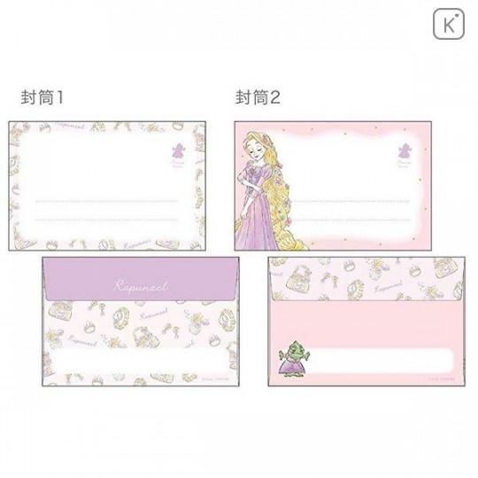 Japan Disney Letter Envelope Set - Princess Rapunzel My Closet - 4