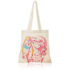Japan Eco Shopping Bag - Sailor Moon & Sailor Chibi Moon