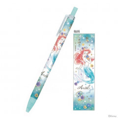 Japan Disney Mechanical Pencil - Princess Little Mermaid Ariel Watercolour Blue
