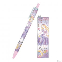 Japan Disney Mechanical Pencil - Princess Rapunzel Watercolour Purple