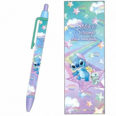 Japan Disney Mechanical Pencil - Stitch & Scrump