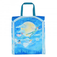 Japan Disney Eco Shopping Bag - Peter Pan & Tinker Bell
