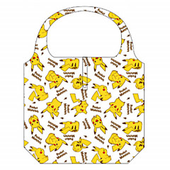 Japan Pokemon Eco Shopping Bag - Pikachu All Around White