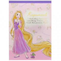 Japan Disney A6 Memo Set - Rapunzel My Closet
