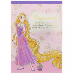 Japan Disney A6 Notepad - Rapunzel My Closet