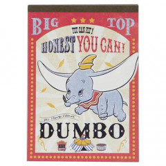 Japan Disney A6 Notepad - Dumbo