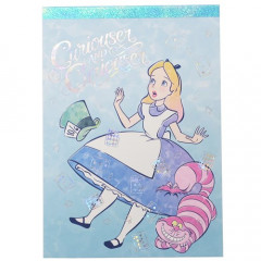 Japan Disney A6 Notepad - Alice in Wonderland