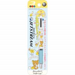 Japan Rilakkuma Jetstream 3 Color Multi Pen - Kiiroitori Cafe