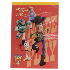 Japan Disney A6 Notepad - Toy Story 4 Woody Nothing Stopping Me