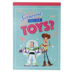 Japan Disney A6 Notepad - Toy Story 4 Someone Calls for Toys