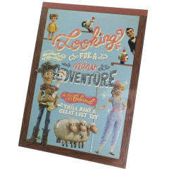Japan Disney A6 Notepad - Toy Story 4 Adventage