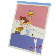 Japan Disney A6 Notepad - Toy Story 4 Rescue Buddy