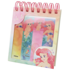 Japan Disney Store Little Mermaid Ariel 3 Style Memo Sticker