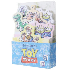 Japan Disney Store Pixar Toy Story & Friend Paper Memo Sticker Box