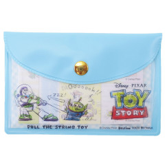 Japan Disney Store Toy Story Light Blue Memo Sticker & Folder Set