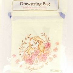 Japan Disney Drawstring Bag - Princess Rapunzel