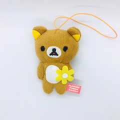 San-X Rilakkuma Happy Rainbow 7th Anniversary Plush - Flower Rilakkuma