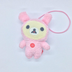 San-X Rilakkuma Happy Rainbow 7th Anniversary Plush - Naughty Korilakkuma