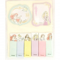 Japan Disney Princesses Memo Sticker