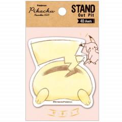 Japan Pokemon Pikachu Butt Sticky Memo