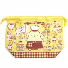 Japan Sanrio Drawstring Bag - Pompompurin Dog