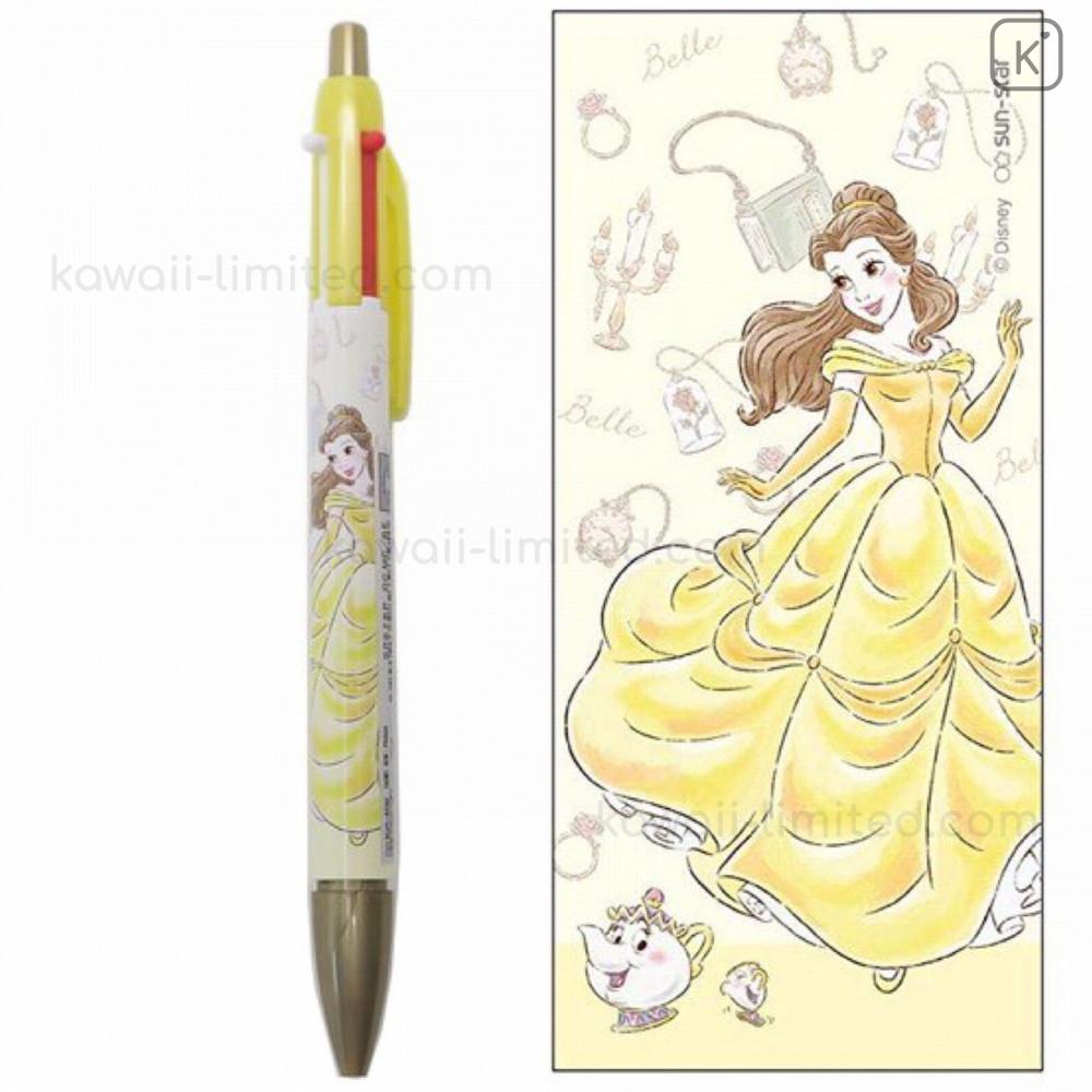 Uni-Ball Disney Beauty and the Beast Belle Kuru Toga 0.5mm Mechanical Pencil