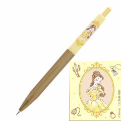 Japan Disney Mechanical Pencil - Beauty and the Beast Belle Yellow My Closet