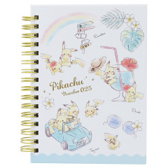 Pokemon A6 Notebook - Pikachu number025 Travel Time