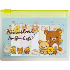 Japan San-X Rilakkuma Memo Sticker & Folder Set