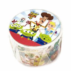 Disney Japanese Washi Paper Masking Tape - Toy Story 4 Friends Little Green Men Gold Foil