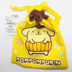 Japan Limited Sanrio Drawstring Bag - Pompompurin Yellow