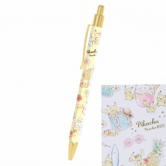 Japan Pokemon Ball Pen - Pikachu number025 Travel Time Light Yellow