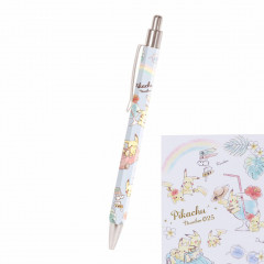 Japan Pokemon Mechanical Pencil - Pikachu number025 Travel Time Light Blue