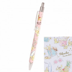 Japan Pokemon Mechanical Pencil - Pikachu number025 Travel Time Light Red