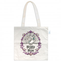 Japan Disney Eco Shopping Bag - Princess Beauty and the Beast Belle Purple
