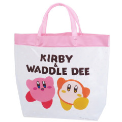 Japan Nintendo Tote Bag - Kirby & Waddle Dee Pink
