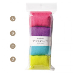 Japan Hamanaka Wool Candy 4-Color Set - Teen Colors