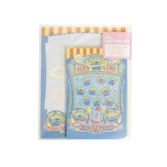Japan Disney Letter Envelope Set - Toy Story Good Alien Game